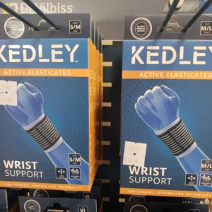 Kedley Active Elasticated Wrist Support