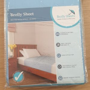 Brolly Sheets Bed Pad With Wings