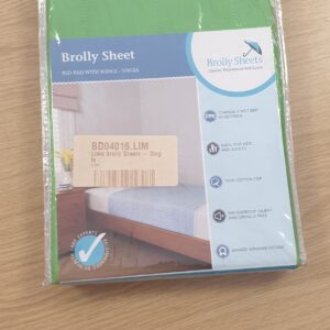 Brolly Sheet Bed Pad With Wings