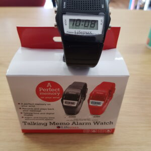 Lifemax Talking Memo Alarm Watch